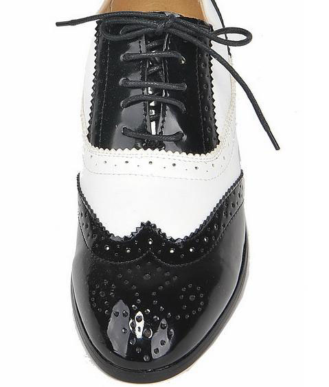ntw black white mens oxford costume shoes dress