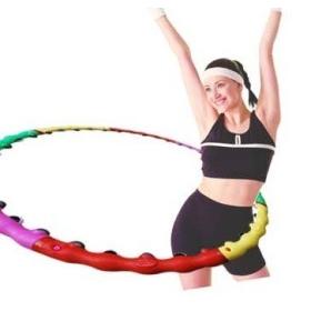 Free shipping classic massage combination hula hoop lose weight hula hoop ring