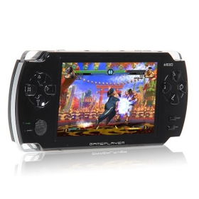 "Free Shipping Brand Game Player JXD V3000 4.3"" TFT LCD 4GB Game Player with Camera/ AV-Out/ HDMI MP3 MP4 MP5  Slot - Black"