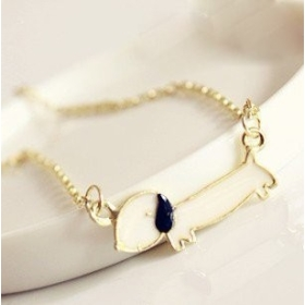 Min.order is $15 (mix order) Fashion cute puppy necklace ,jewellery jewelry,promotion gift 4136