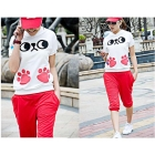New South Korea summer uniforms suit who complete sets of a complete set of women's clothing lady a leisure shorts