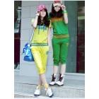 Han edition big yards women's sport suit of female money chun xia leisure suit fat mm sportswear HanGuoWei clothing suits