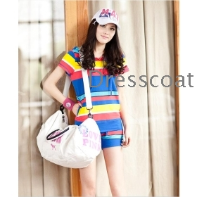 South Korean women's spring, summer and fall han edition big sports leisure suit who dress code leisure suit