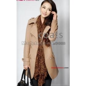 Now 2013 Woolen Coat, Cashmere Coat, Women's Coats, Women Winter