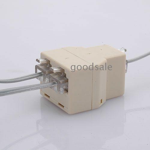 Rj Rj Connector Splitter Extender Plug Bak on Wiring 6 Wire Phone Line Splitter