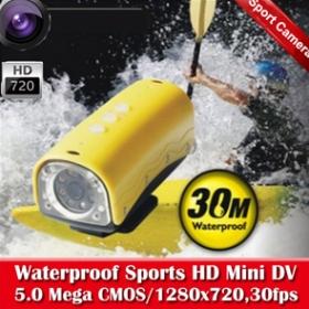 RD32 sports camera Sport DVR HD 720P bike car camera waterproof Free Shipping