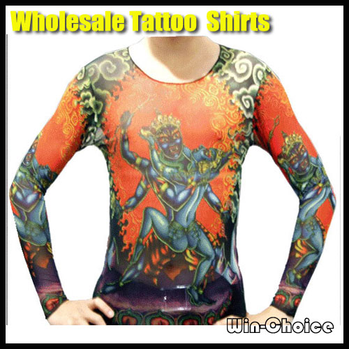 50pcs long sleeve tattoo t shirts fashion designs wholesale hot selling 50pcs lot long sleeve. Black Bedroom Furniture Sets. Home Design Ideas