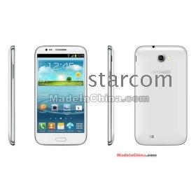 5.5'' qHD Screen MTK6577 dual core 1GB 4GB ROM 3G WCDMA WiFi GPS 8MP Camera Star N7100 Note ii