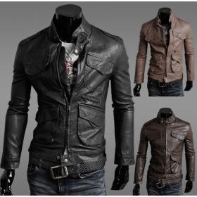 Polyurethane Leather Jacket