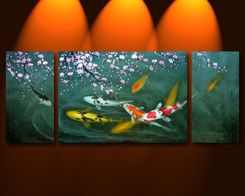 Buy wholesale feng shui painting japanese koi fish for Japanese koi fish wholesale