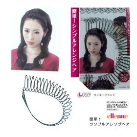 The latest dish hair fork dish hair comb processing small hair backwardness