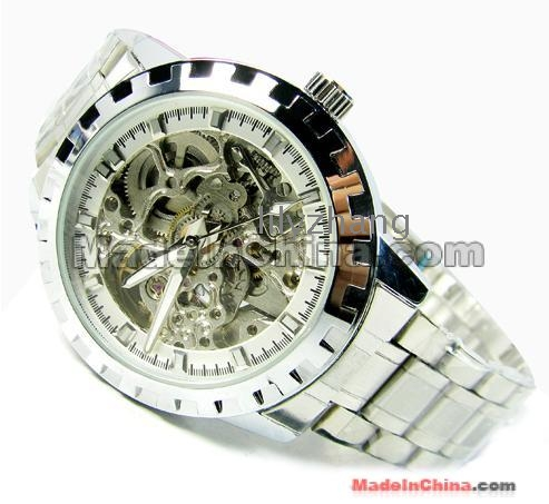 Mechanical Gears Design Watch Steel Gear