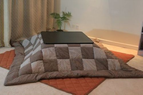 Japanese Kotatsu Warmer Table Square Type 75 75cm