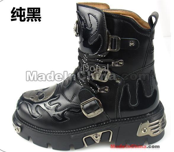 Boots Punk Boots Punk Punk Male Boots