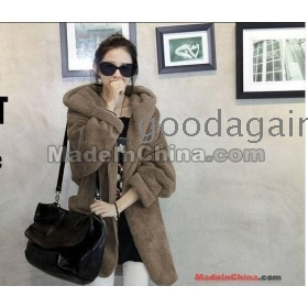 hot sale!!!  free shipping new Cloak wear cap keep warm woollen coat only size