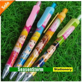 [CPA Free Shipping] Wholesale Cartoon Snow White Mechanical Pencil Stationery 120pcs/lot (SP-46)