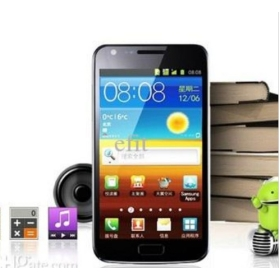 Android 4.0 GT i9200 4.3 Capacitive screen MTK6573 3G smartphone i9100 wifi GPS 8GB card
