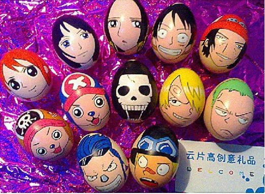 One Piece Easter Eggs One Piece Easter Hand-painted