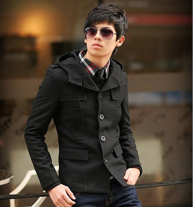 Mens Slim Jacket