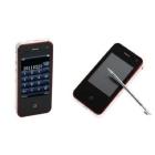 3 SIM Analog TV i9 4GS H308 2.5 inch mobile phone(white)