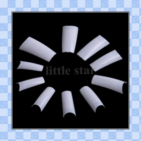 White Acylic French Artificial False Nail   freeshipping     lh94626