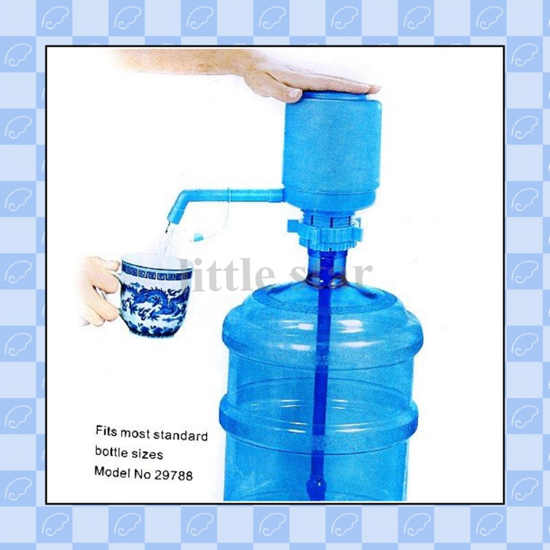 Useful Home Articles Drinking Water Hand Pump For Bottled: Bottled Drinking Hand Press Water Pump Dispenser