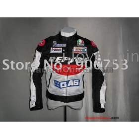 free shipping DUHAN REPSOL GAS Motorcycle Jackets Oxford Racing Jacket blue fire  96