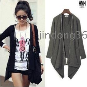 Free shipping 2012 new women fashion cardigan knit sweater N102-923 coat jacket