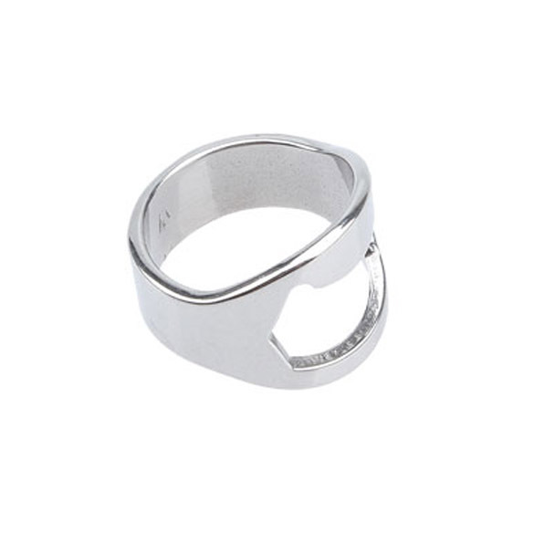 silver steel beer bottle opener finger rings wholesale wholesale silver steel beer bottle. Black Bedroom Furniture Sets. Home Design Ideas