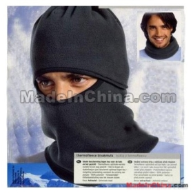 New Cycling bicycle Thermal Fleece Balaclava Hood Pollce Swat Ski Mask Black