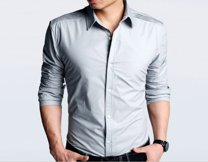 Gallery images and information: Fashion Men Shirts