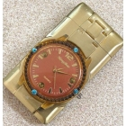 With four of 7 colour brassy flash blue diamond electronic watches windbreak and lighter