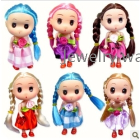 dolls hang long tails dim doll children's toys