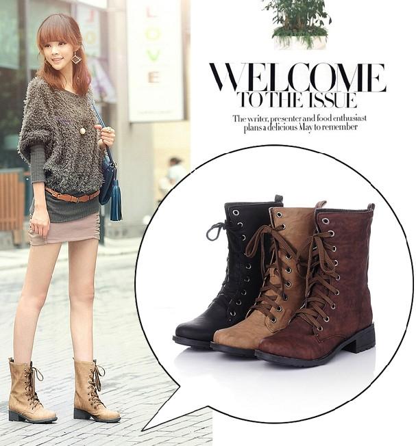 2012 Fashion S Boots European Style S Boots Retro