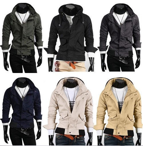 Men Fashion Jacket Dress Wear clothing Hoodies men s