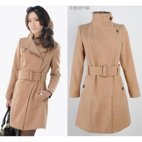 Winter Trench Coat Women