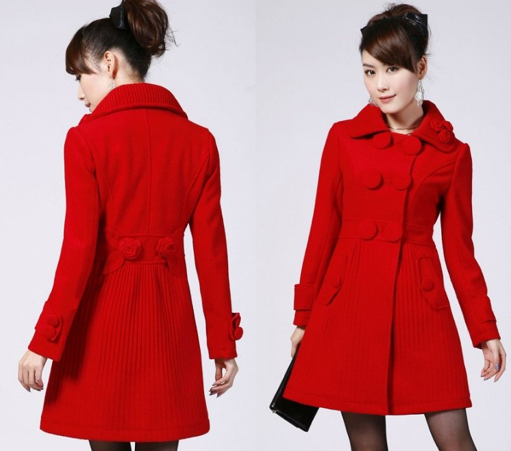 Ladies red coats and jackets – Novelties of modern fashion photo blog