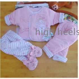 Neonatal cotton-padded clothes outside suit necessary winter clothing products thickening newborn babies quilted jacket cotton-padded jacket  winter clothing
