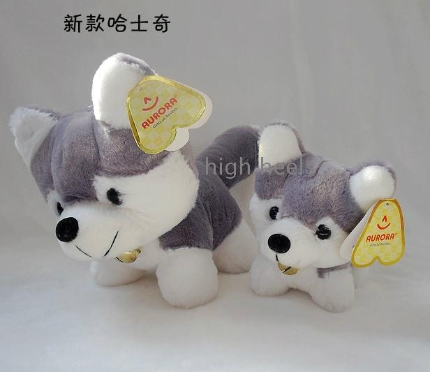 Husky dogs come doll plush toy doll the siberian husky dogs come doll