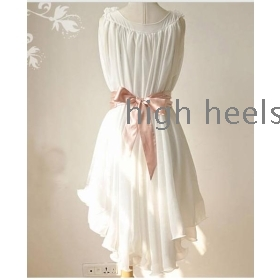 2012 new female outfit of spring snow spins dress han edition summer two-piece outfit beach skirt fairy skirt small formal attire skirt