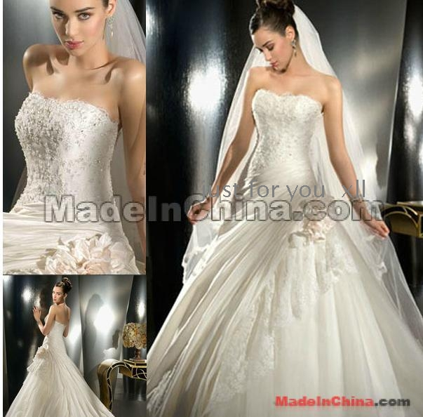 Wedding dresses bud silk europe show thin wholesale for Wedding dresses in europe