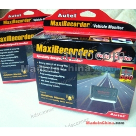 free shippinng MaxiRecorder Vehicle Monitor auto diagnostic scanner 2012  Autel new product