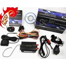 Buy 103b Car Gps Tracker Remote Control Quadband Car