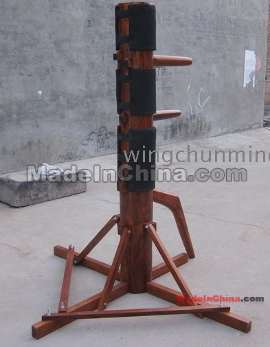 Wooden dummy construction manual sample