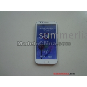 """New arrived 5.7"""" Star S7500 MTK6577 Dual core phone real 1GB  +8GB ROM,12MP Camera with good  pen choose EMS or DHL"""