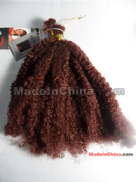 Synthetic Hair Weft Bulk 56