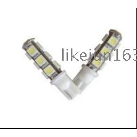T10-13leds(5050SMD) LED lights for car,185Lm,6000-6500K