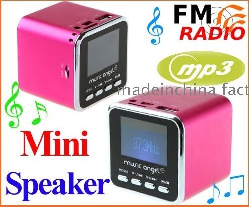 mini digital speaker user manual