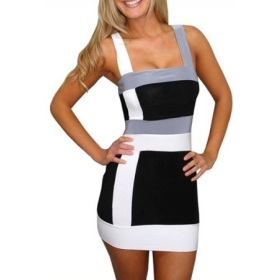 2015 New Costume Latex Catsuit Women Mini Dress Fetish Sexy Uniform Party Vest Clothes Online Sale