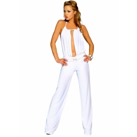 Collection All White Womens Jumpsuit Pictures - Reikian